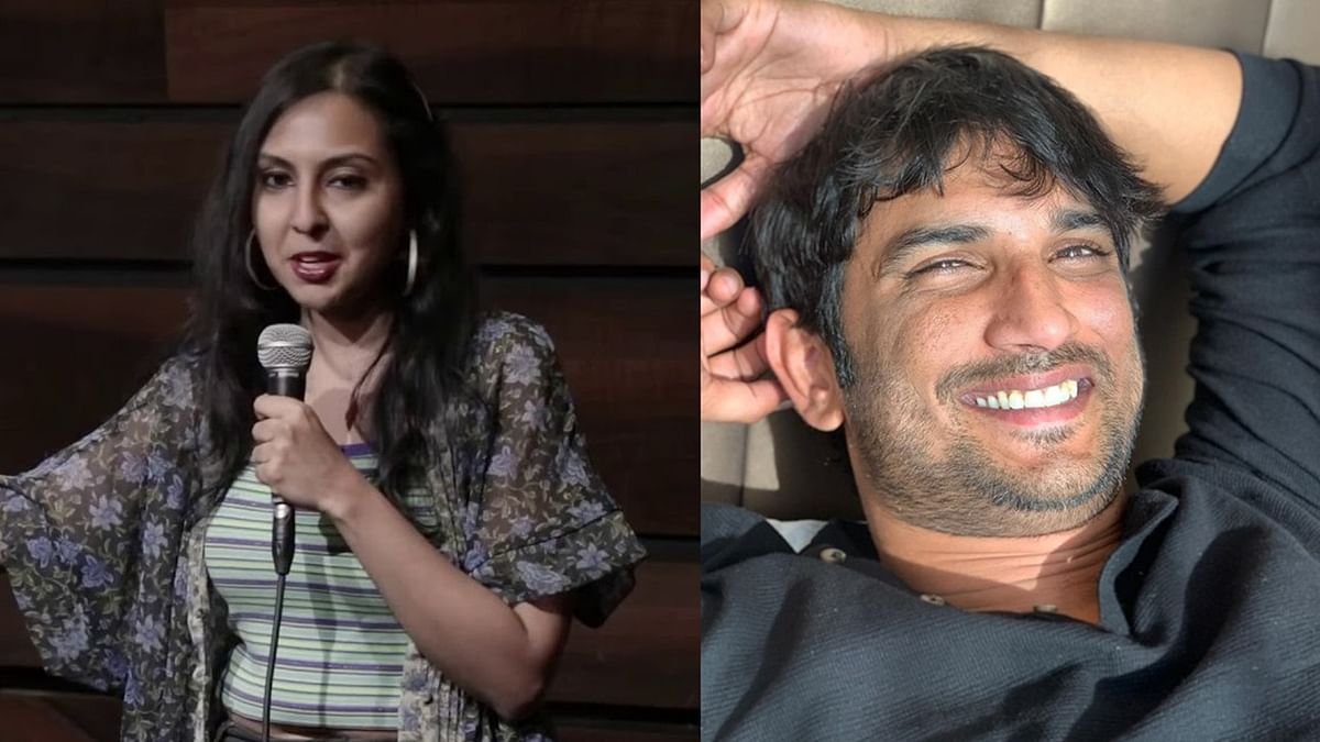 Agrima Josuha compares her case to Sushant's; claims people from UP never supported her