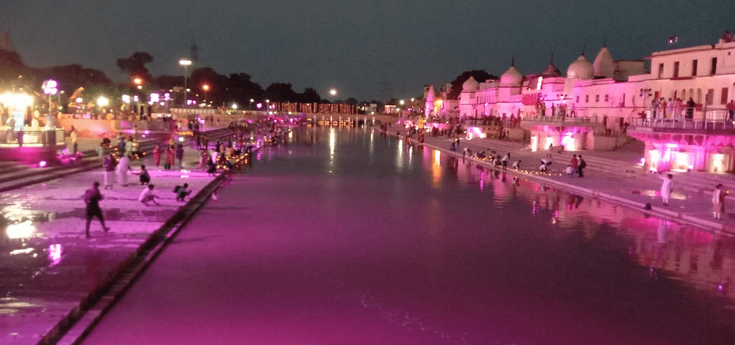 Ayodhya Bhoomi Pujan Live Updates: Ayodhya lights up ahead of ceremony