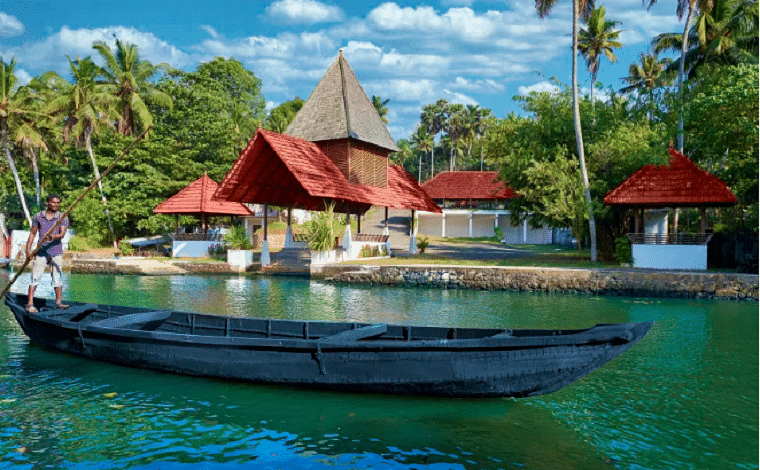 Rowing boat around Mangroves at Sarovar Estuary Portico