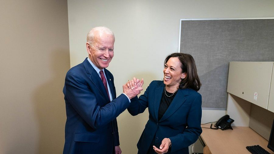 As Joe Biden accidentally calls Kamala Harris 'President', Twitterati erupt into debate