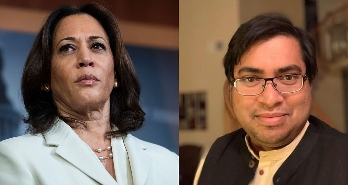 Why does Kamala Harris play up her black identity more than her Indian one? Author Arnab Ray explains