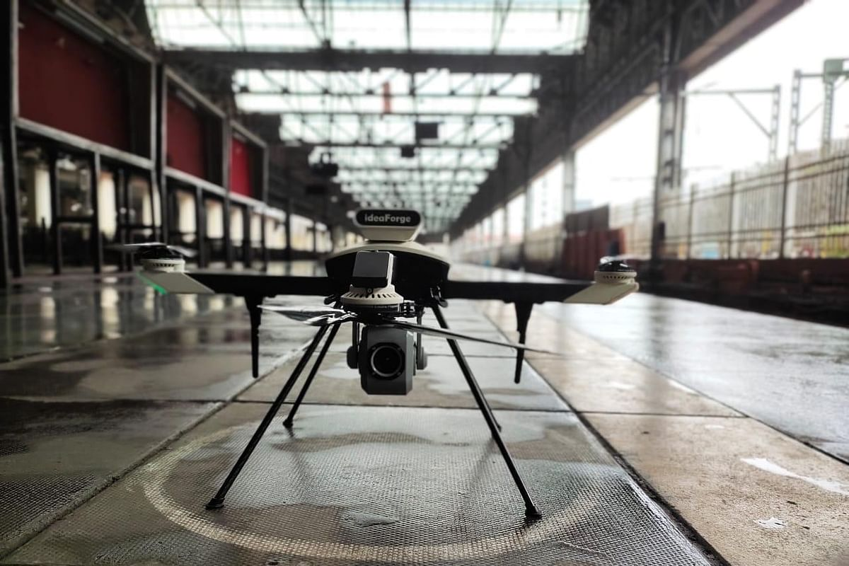 Central Railway procures two drones to help RPF to keep a watch on railway tracks