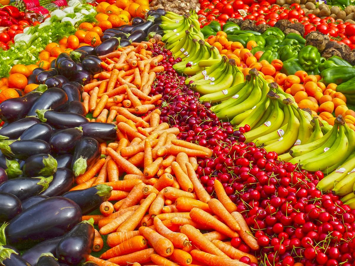 Representational image/ vegetables and fruits