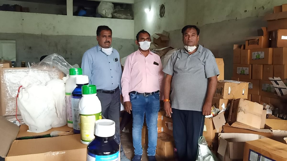 Indore: Fake pesticide production unit raided, 1000-litre chemical recovered