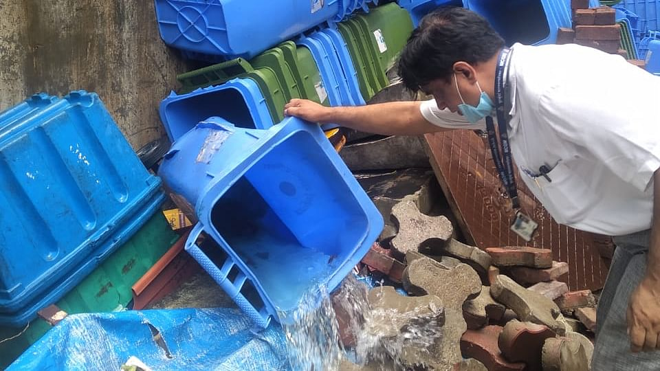 In its campaign against vector-borne diseases, BMC destroys 43,607 mosquito breeding spots