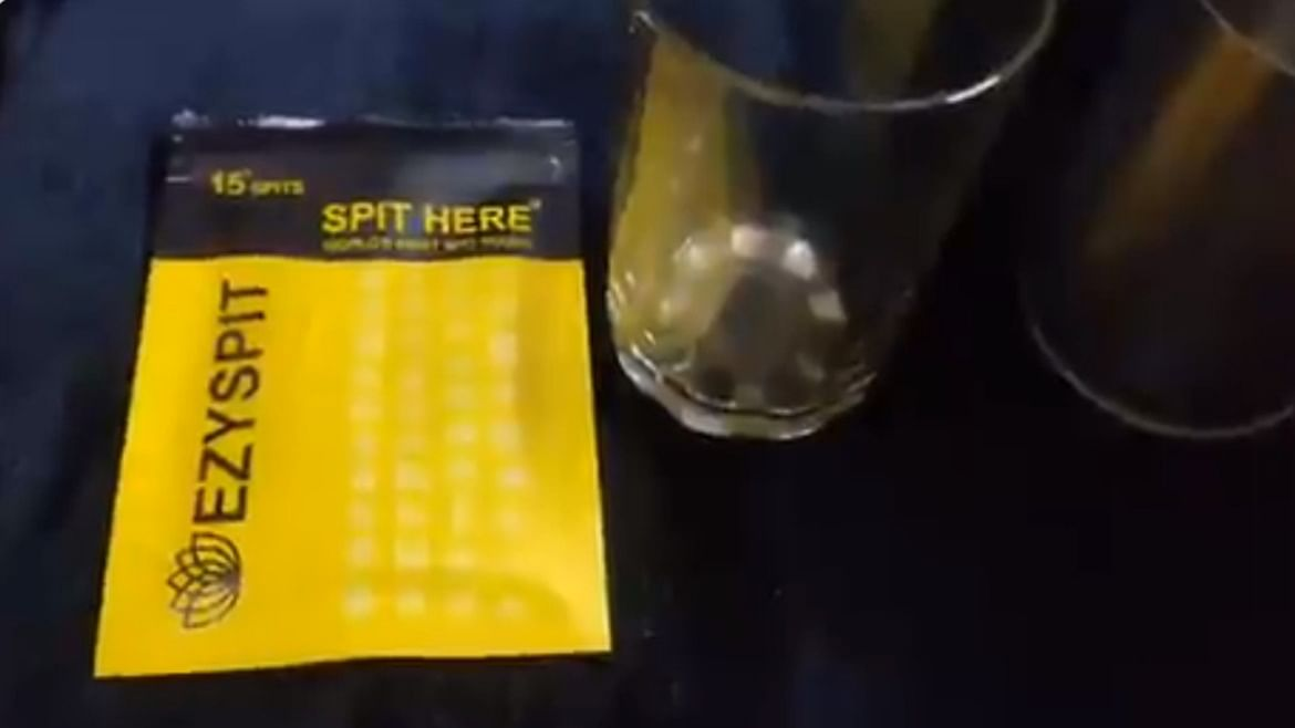 What's Ezy Spit? BJP leader Tajinder Bagga wants you to store your spit in this pouch - here's why