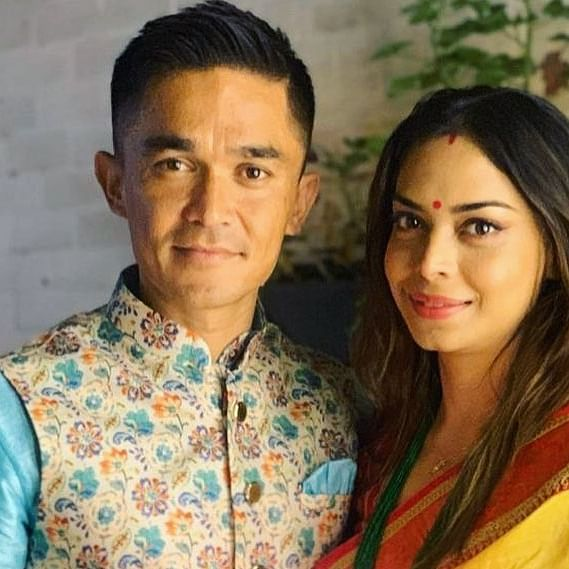 Happy Birthday Sunil Chhetri: How the footballer met his 'biggest fan', his wife