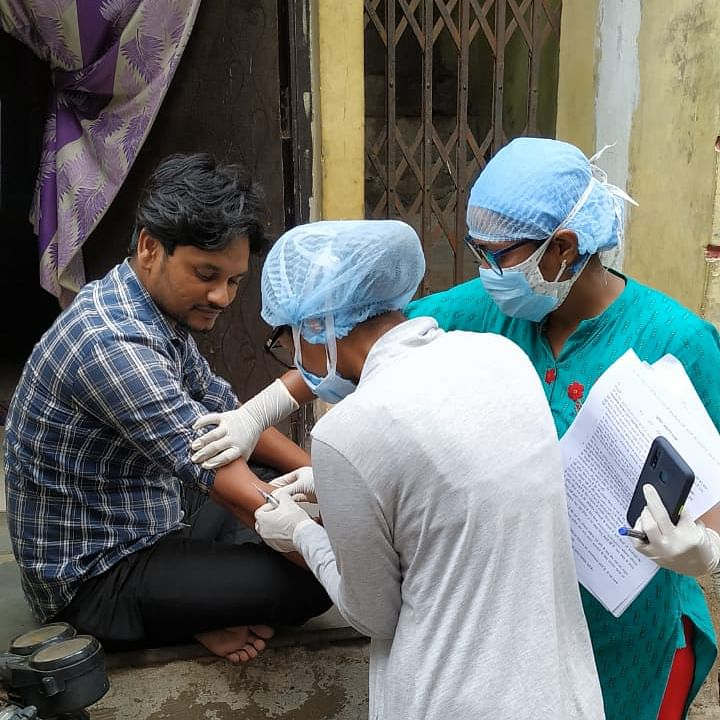 Coronavirus in Indore: People wary of Sero survey, refuse to give samples