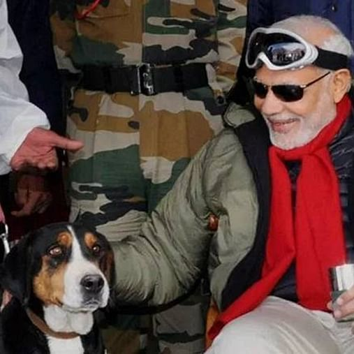 In Mann Ki Baat, PM Modi hails the dogs of Armed Forces