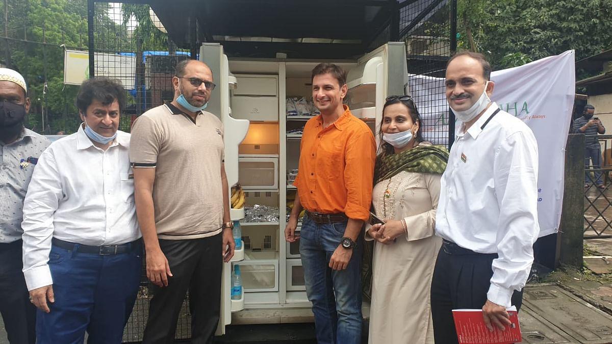 Mumbai: Marol NGO installs refrigerator in society compound to feed the poor