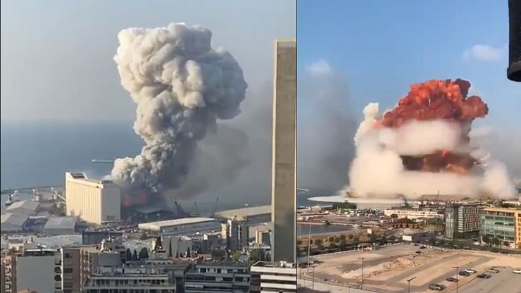 Watch: Massive explosion in Beirut has internet stunned
