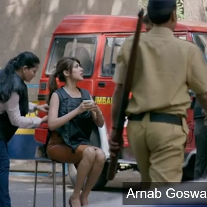 Watch: When Rhea Chakraborty played a Zee News journalist who idolised Arnab Goswami