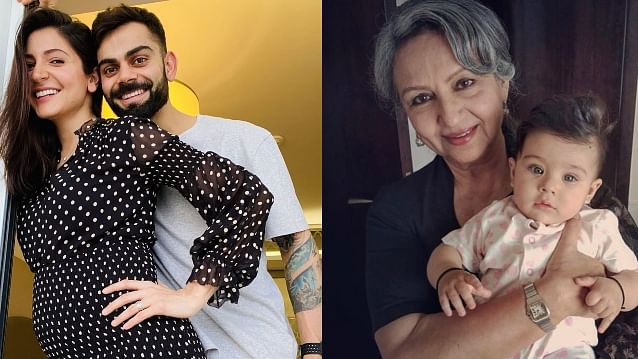 When Taimur Ali Khan's grandmother predicted Virat Kohli and Anushka Sharma's good news