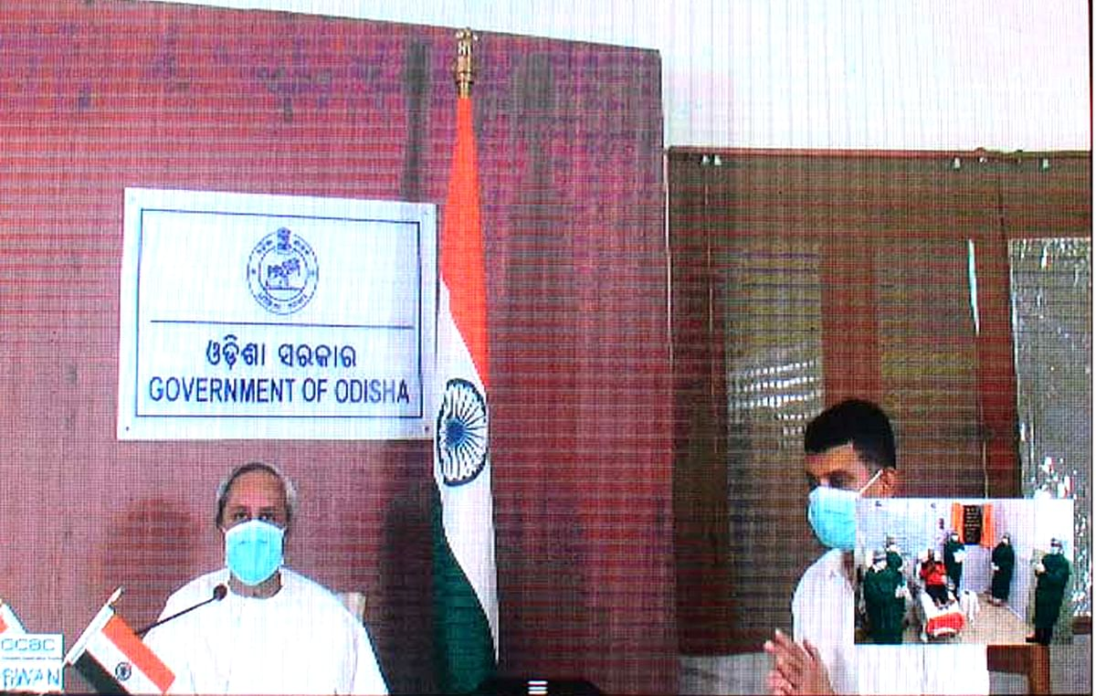 Odisha CM inaugurates Plasma Bank at Ispat General Hospital of SAIL