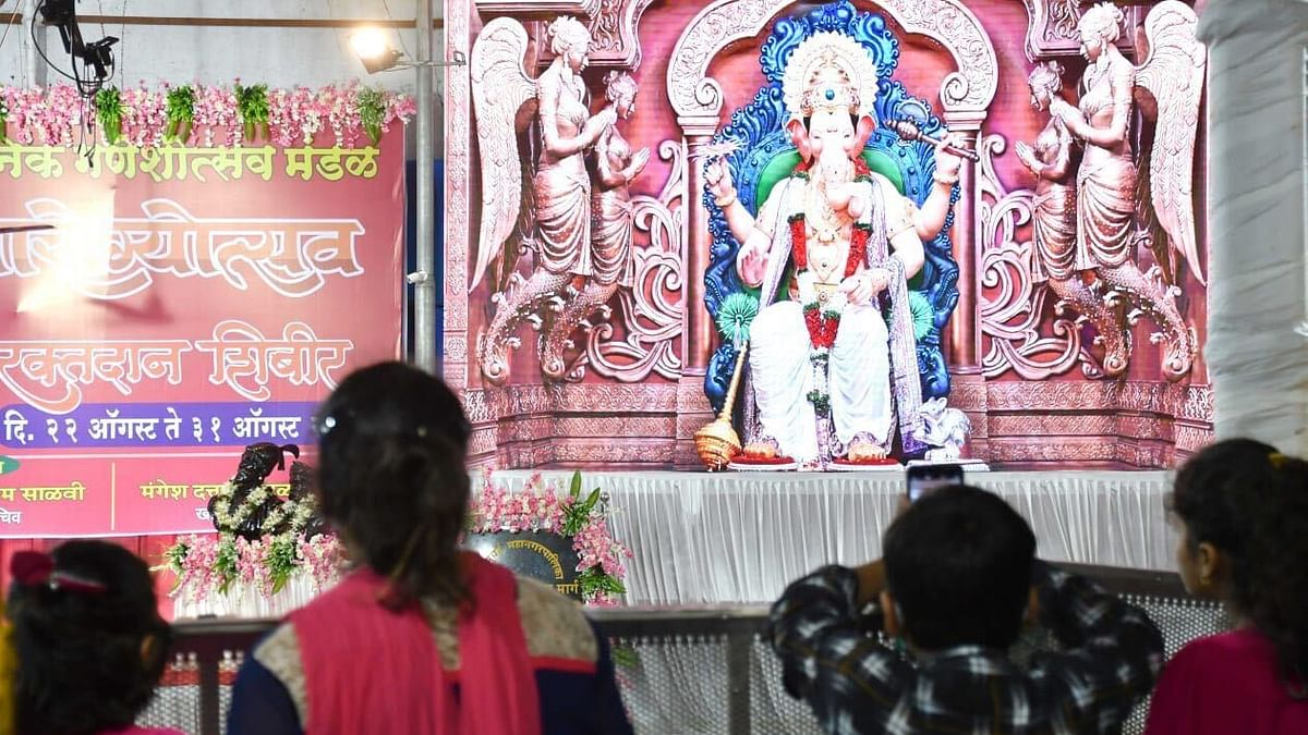 Lalbaugcha Raja on LED screen: This is how Lalbaugcha Raja Sarvajanik Ganeshotsav Mandal is celebrating Ganeshotsav 2020; see pictures here