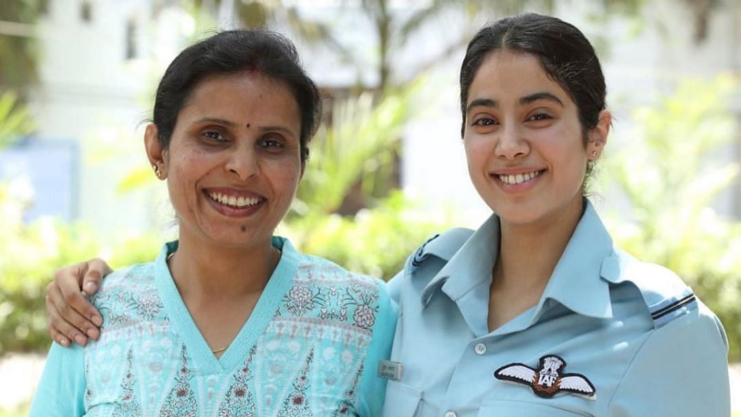 'Never do a film of this kind if you are a proud Indian woman': Former IAF pilot to Janhvi Kapoor