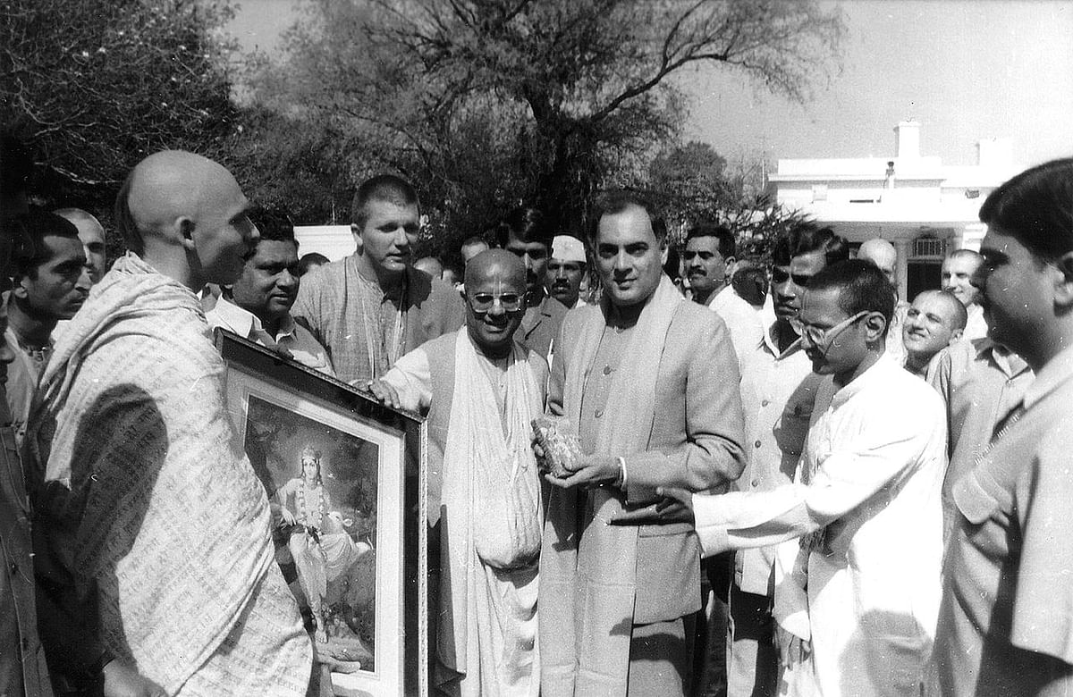 Rajiv Gandhi 'unaware' of Babri Masjid unlocking claims new book, Twitter scoffs at claim