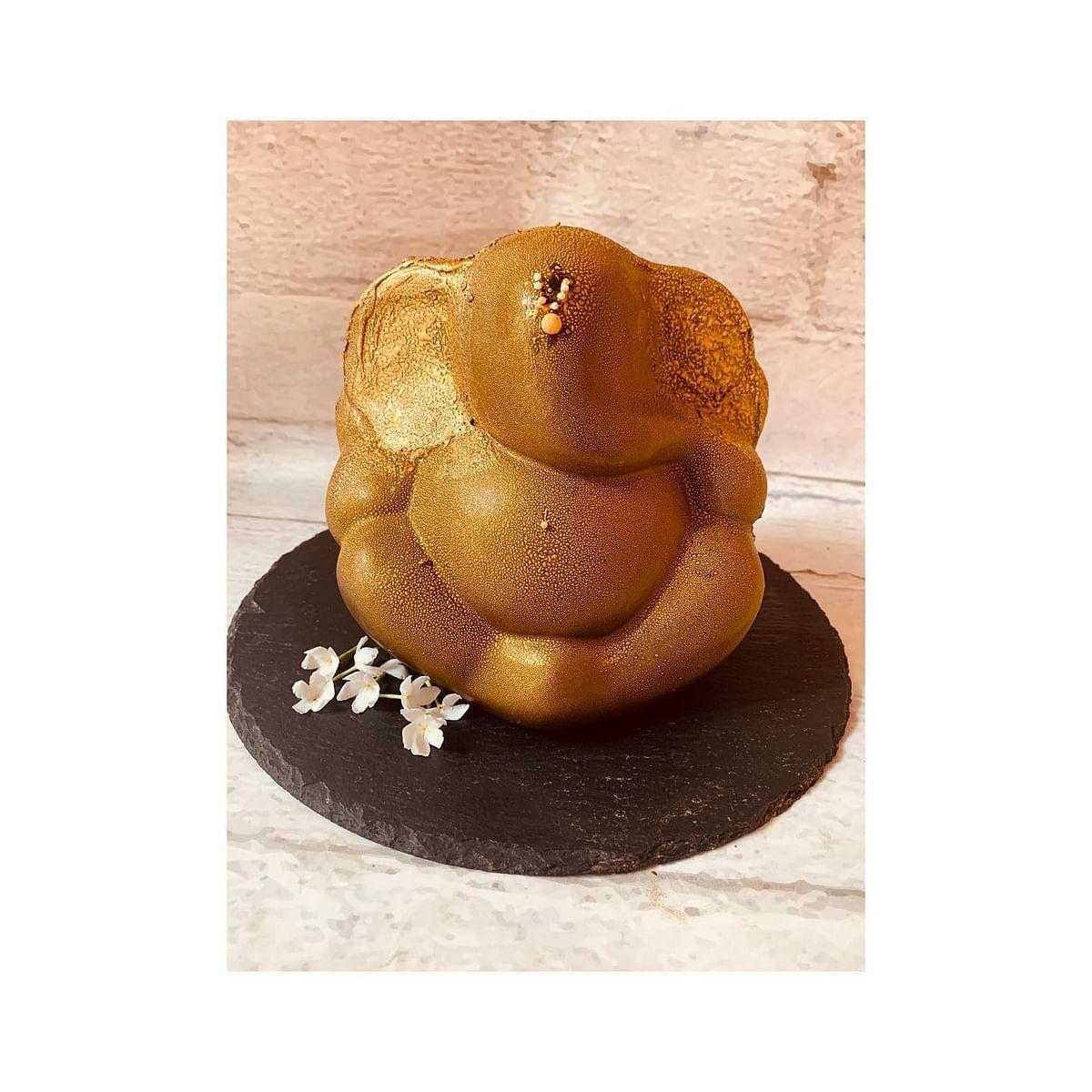 Simple chocolate Ganesh