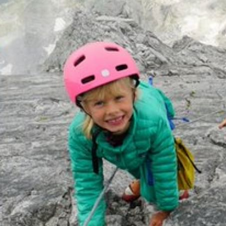 Modern Family 2.0: Toddler climbs 10,000 ft Swiss Alps with 7-year-old sister and parents