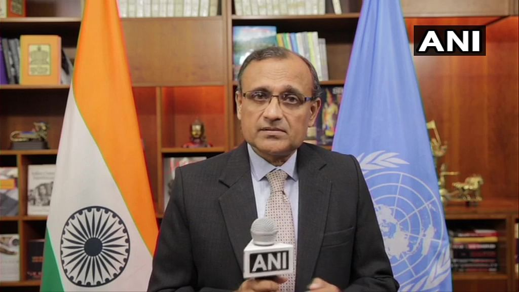 Pakistan's attempts to involve United Nations in Kashmir issue has not 'borne fruit': Indian envoy to UN