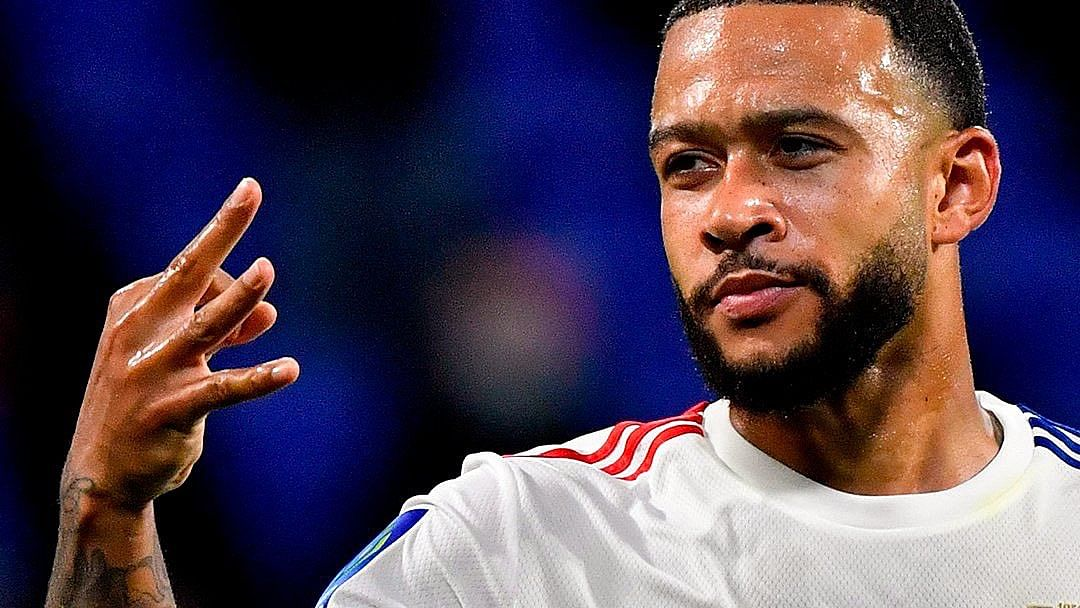 Lyon's Memphis Depay kicks off Ligue 1 campaign with hattrick in 4-1 win over Dijon