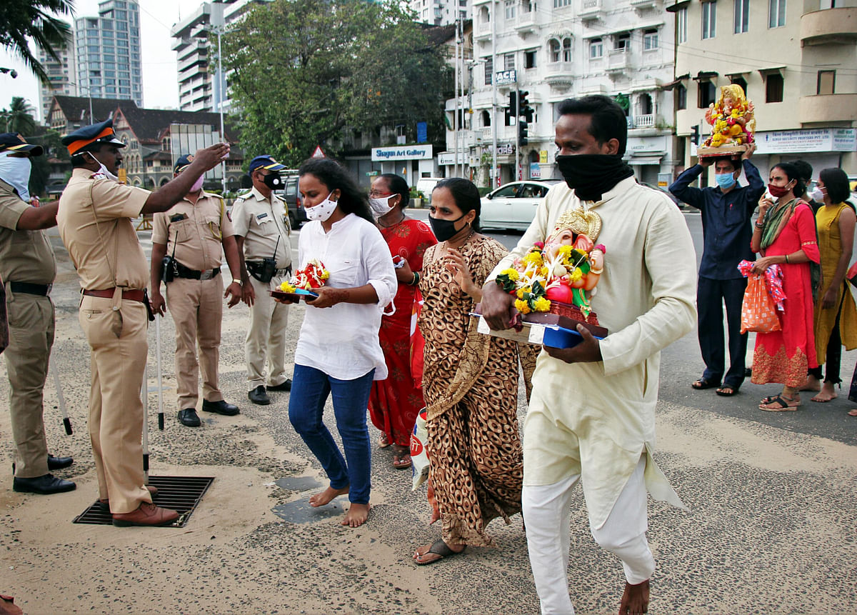 Ganeshotsav 2020: 40,823 Ganpati idols immersed on Sunday
