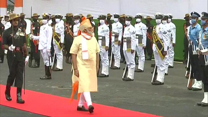 Independence Day 2020 latest updates: PM Narendra Modi inspects Guard of Honour at Red Fort