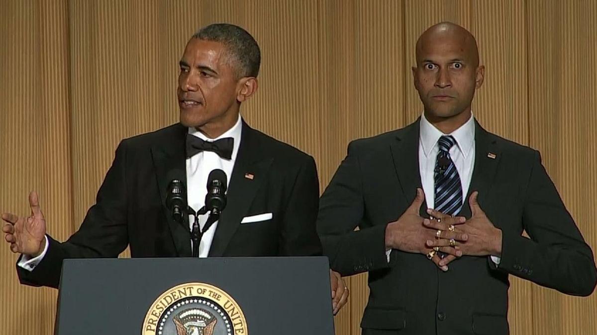 Flashback: When Barack Obama introduced his 'anger translator' Keegan Michael-Key