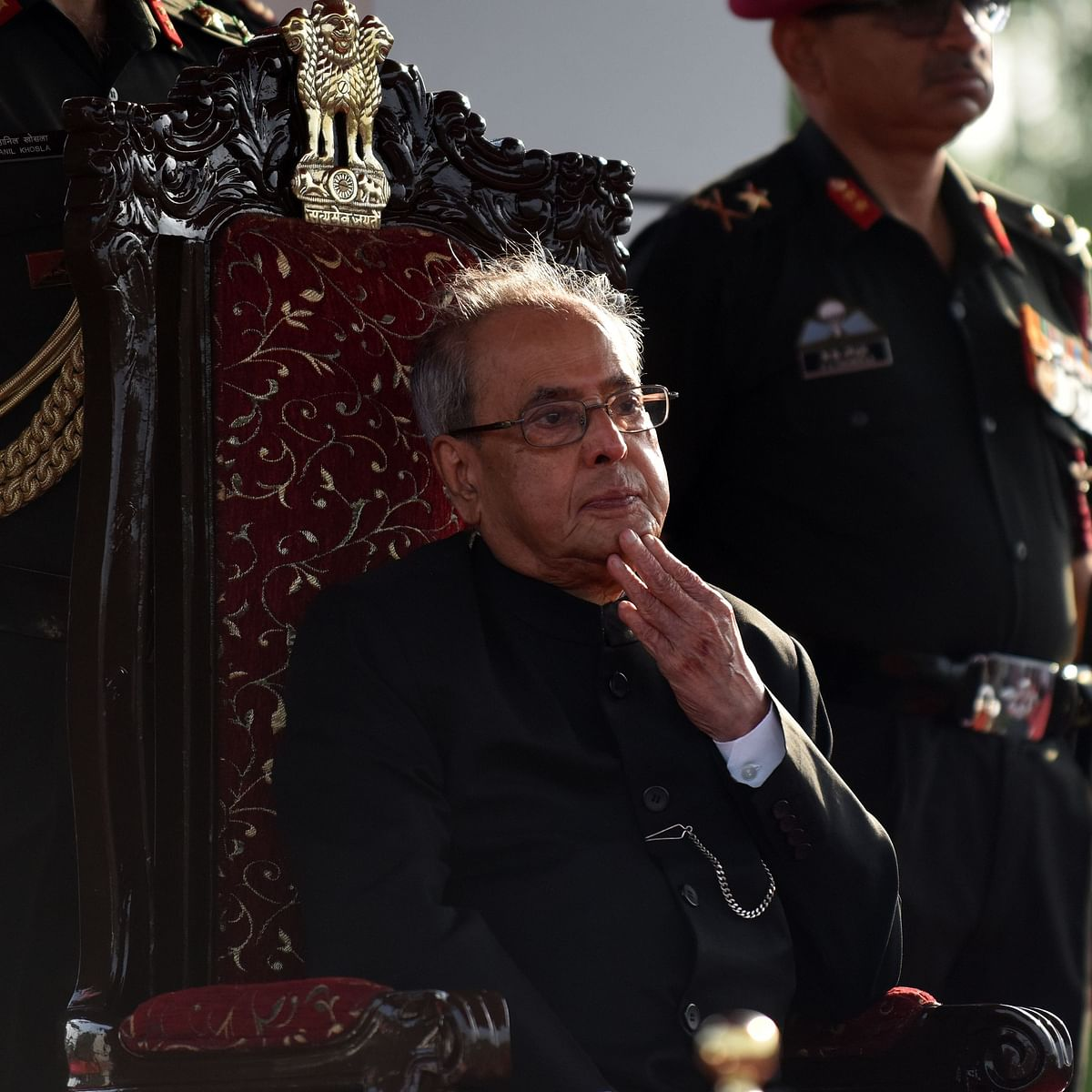 When Pranab Mukherjee wanted to be a horse at Rasthrapati Bhavan