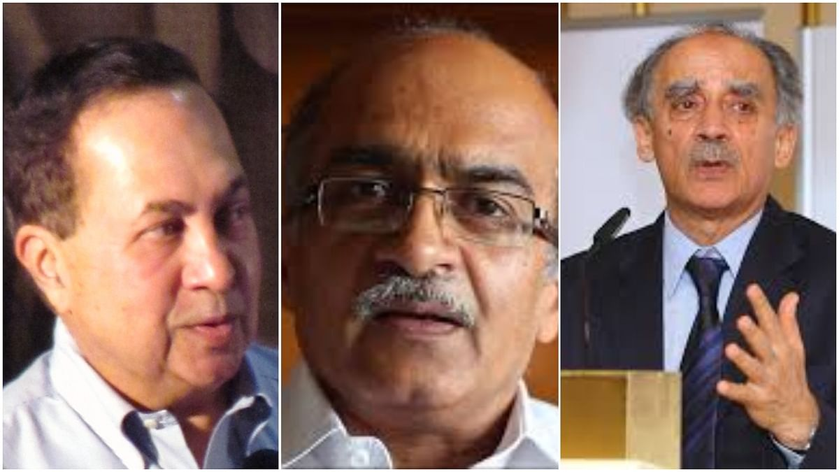 Prashant Bhushan, Arun Shourie, N Ram move SC challenging contempt of court act; say it's 'rooted in colonial assumptions'