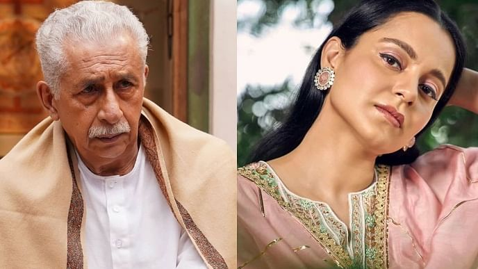 'Would you say this if I were Parkash Padukone/Anil Kapoor's daughter?': Kangana on Naseeruddin Shah calling her 'half-educated starlet'
