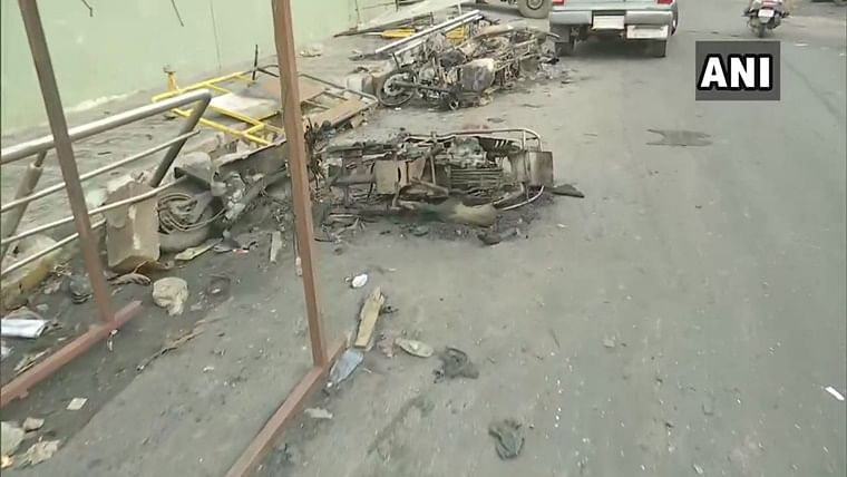 Bengaluru violence latest updates: Forensics team at DJ Halli police station