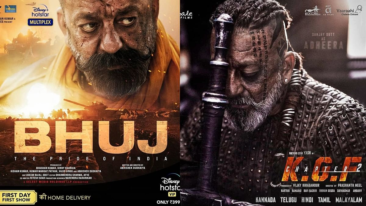 From 'Bhuj: The Pride of India' to 'KGF Chapter 2': Films affected after Sanjay Dutt diagnosed with lung cancer