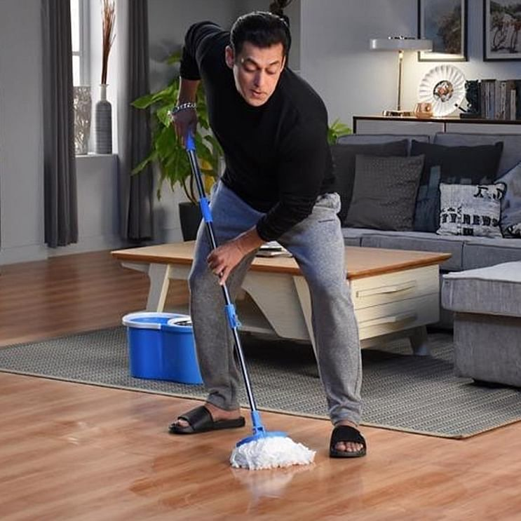Bigg Boss 14: Reality show host Salman Khan mops the floor in latest still