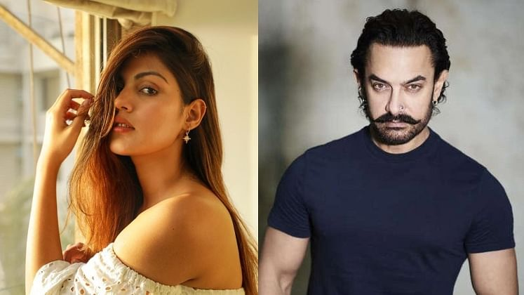 Rhea Chakraborty call records: Actress dialed Aamir Khan once; latter texted her thrice