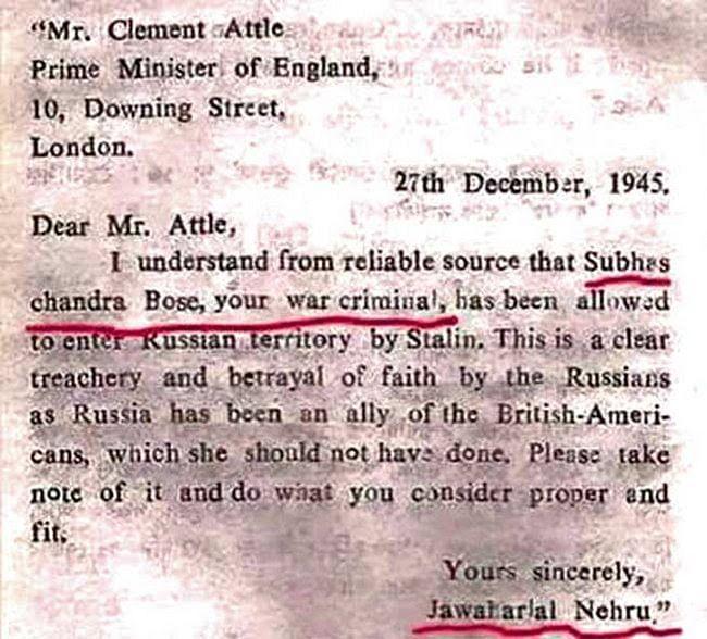 Did Nehru really call Netaji Bose a war criminal? Here's the full story