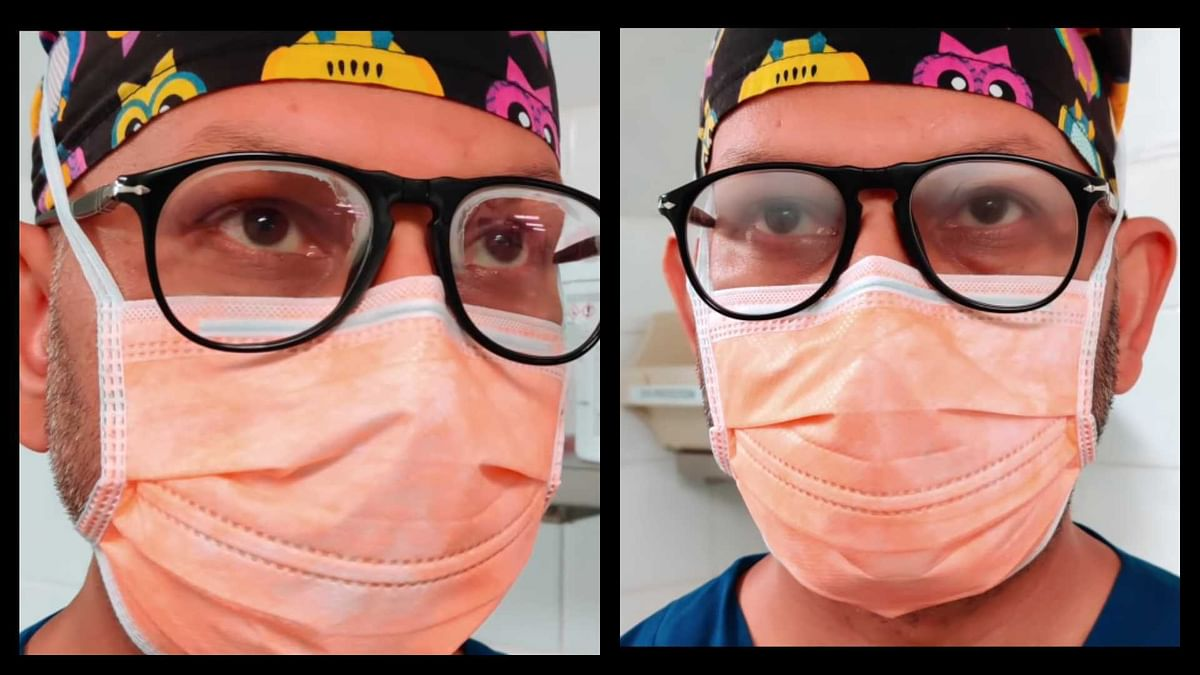 Tired of foggy glasses while wearing mask? Here are some tips