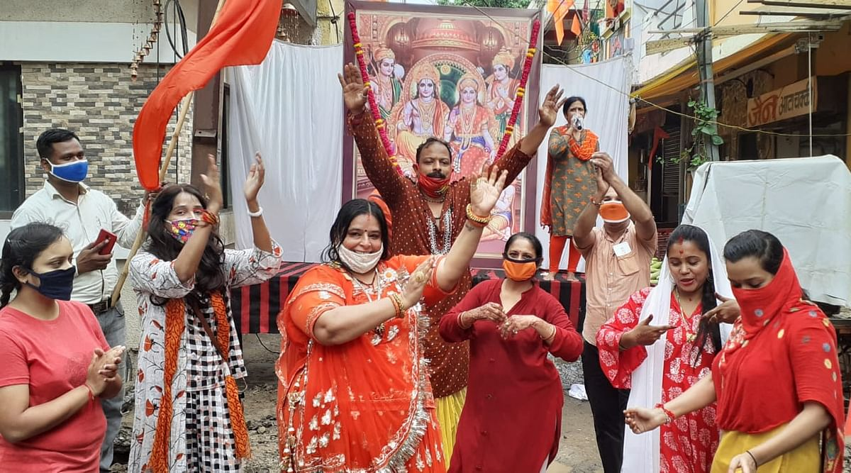 Indore: City turns saffron for the celebrations of Ram Mandir Ayodhya Bhoomi Pujan
