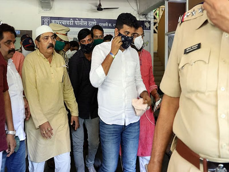 Thane: Court rejects bail application of MNS leader Avinash Jadhav who was arrested for protesting outside TMC office, COVID-19 hospital