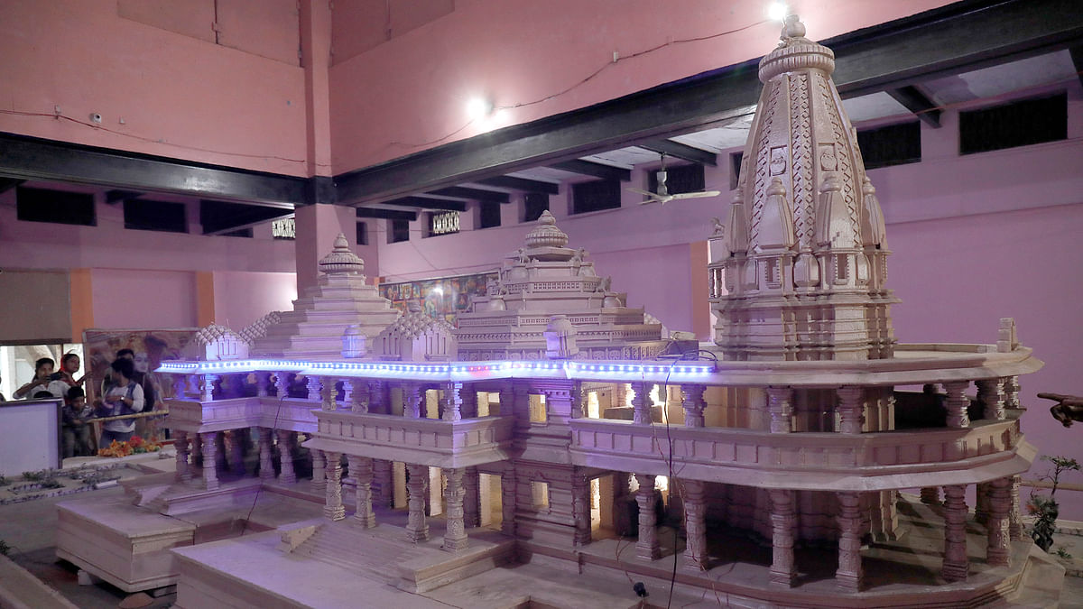 Ayodhya Bhumi Pujan: Check out pictures of preparations which includes hundreds of earthen lamps and ladoos being made