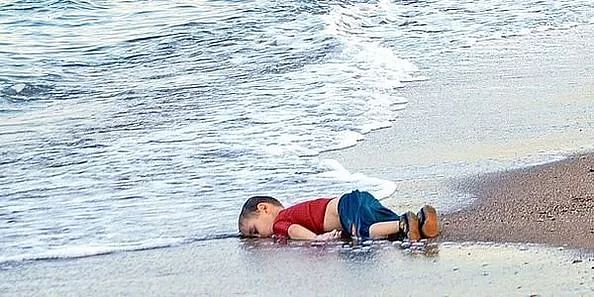 The haunting photograph of Aylan Kurdi that became the face of the Syrian refugee crisis