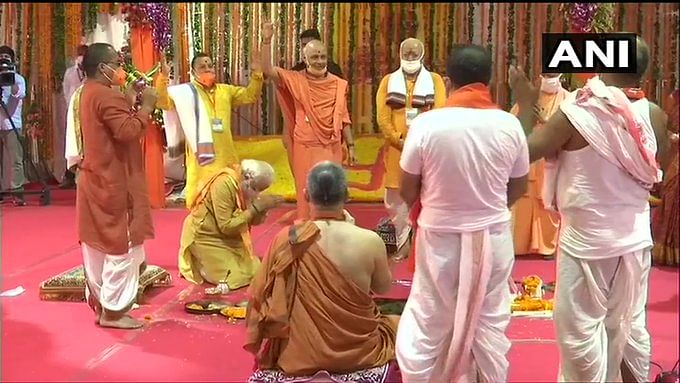 Ram Mandir Bhoomi Pujan Live Updates: Foundation stone laying ceremony concludes; PM Modi starts his address