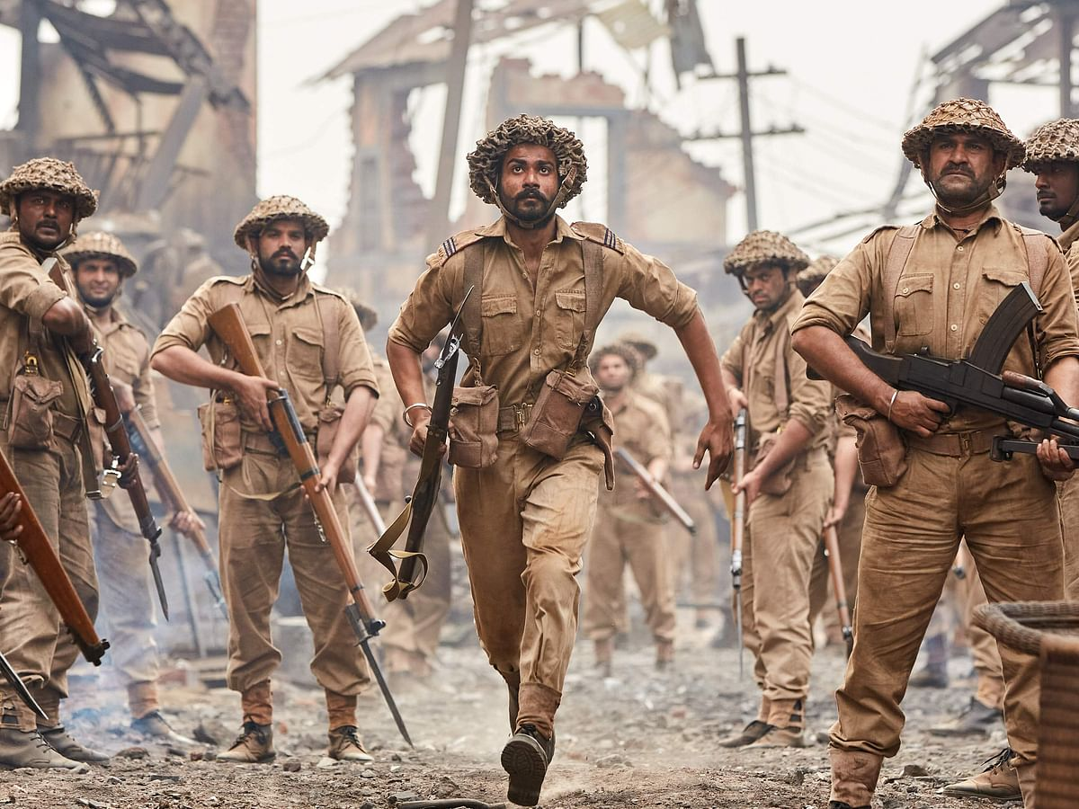 Sunny Kaushal in The Forgotten Army