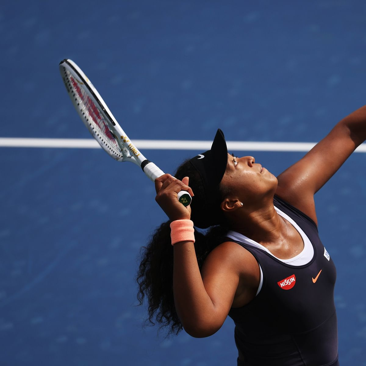 Naomi Osaka wins, later withdraws