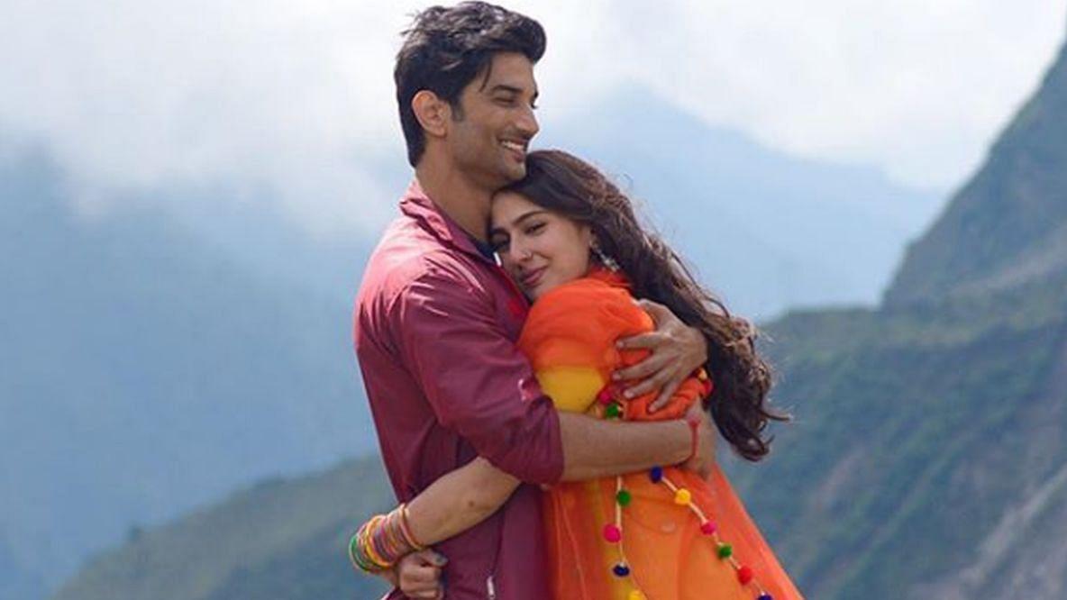 Sushant and Sara in Kedarnath