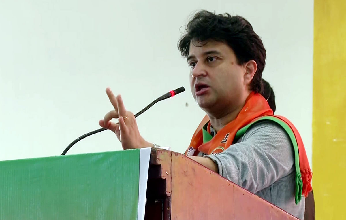 Madhya Pradesh: Kamal Nath left Rs 8000 cr loan for Govt, alleges Jyotiraditya Scindia