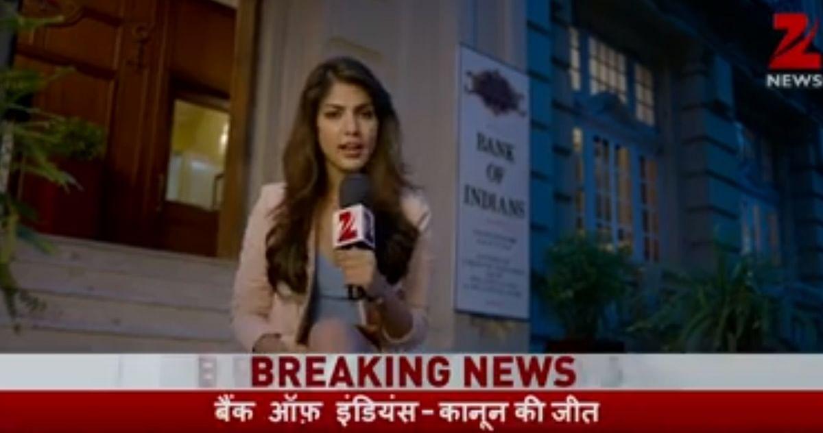 Watch: When Rhea Chakraborty played a Zee News journalist who idolised Arnab Goswami
