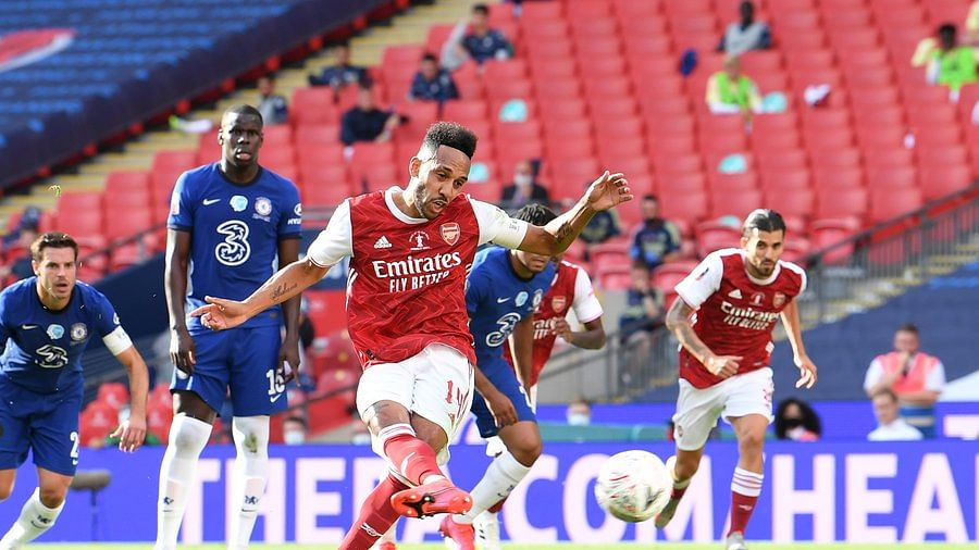FA Cup highlights: Aubameyang's brace helps Arsenal defeat 10-man Chelsea to lift trophy for 14th time