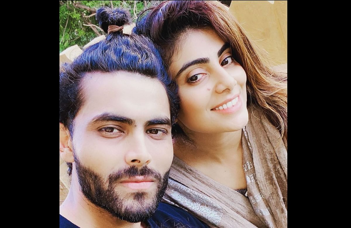 Ravindra Jadeja's wife Rivaba skips wearing a mask; enters into verbal spat with cop