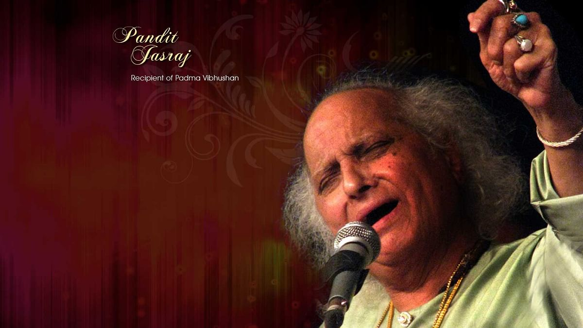 Photo: Pandit Jasraj website